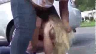 Really Violent Girl Fight