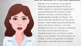 List of Gotham (TV series) episodes - Wiki Videos