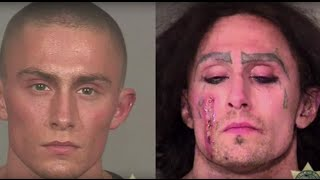 14 years of mugshots: A Portland-area man's eye-opening transformation