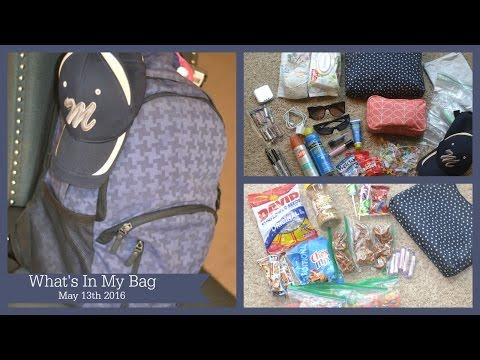 What's In My Baseball Mom Bag