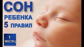5 правил безопасного сна новорожденного - правильные позы для сна младенца