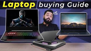 Detailed Laptop Buying Guide ⚡⚡⚡Ye Video Miss Mat Karna