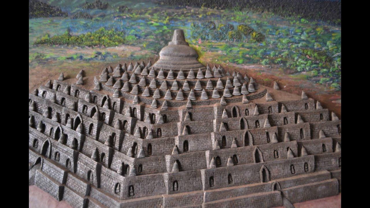 Koleksi Gambar Sketsa Pensil Candi Borobudur Aliransket