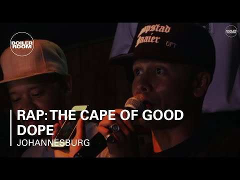 Rap: The Cape of Good Dope Boiler Room Johannesburg DJ Set