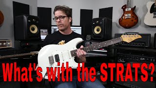 Suhr, Lsl, Friedman What's with the Strats!!? Demo Video by Shawn Tubbs Video