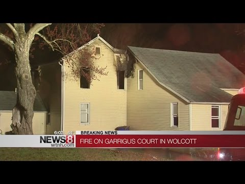 Mother rescued from house fire in Wolcott