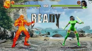 Killer Instinct Definitive Edition Retro Cinder vs. Retro Orchid