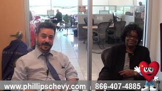 2018 Chevy Malibu - Customer Review at Phillips Chevrolet - Chicago New Car Dealership Sales