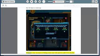 Fix An error has occurred while trying to process your request when buying subscription Swtor