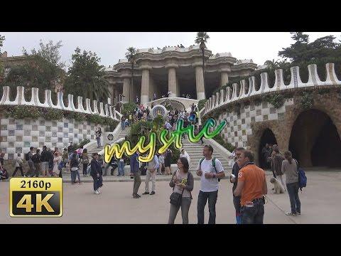 Barcelona, City Tour by Bus, Blue Line - Spain 4K Travel Channel