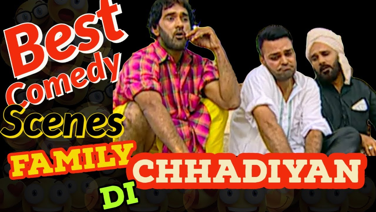 Best Comedy Scenes - Gurchet Chitarkar - Family Chhadiyan Di - Blockbuster Punjabi Movies