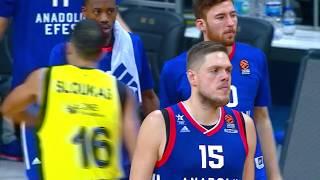 EuroLeague 3. Hafta: Fenerbahçe Doğuş - Anadolu Efes