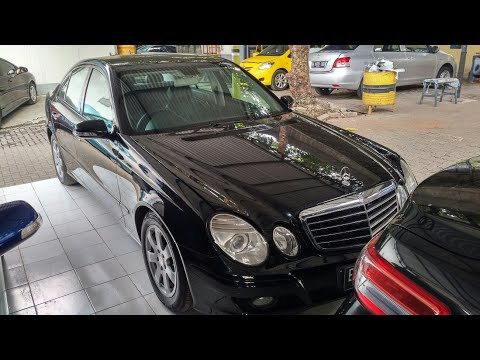 In Depth Tour Mercedes Benz E200 Kompressor W211 Facelift (2009) - Indonesia