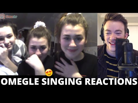 Omegle Singing Reactions