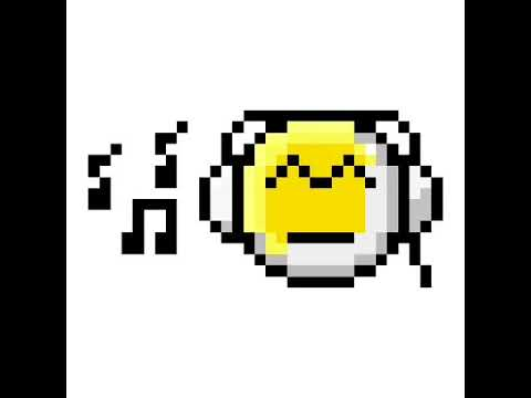 Emoji guy listening to music