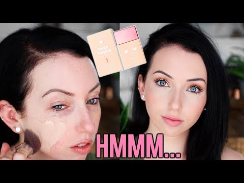 BLURRING?! New BENEFIT HELLO HAPPY SOFT BLUR FOUNDATION {First Impression Review & Demo!} Fair Skin