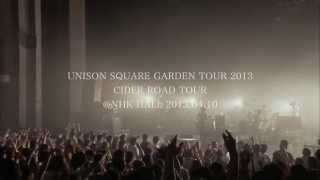 UNISON SQUARE GARDEN - to the CIDER ROAD