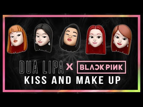 Dua Lipa & BLACKPINK - Kiss And Make Up Memoji Version | 6CAST