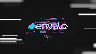 After Effects Glitch Logo Reveal