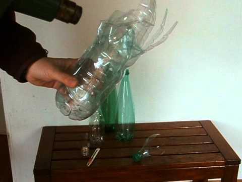 Cr ation par s verine peugniez d 39 un vase avec des - Que faire avec des bouchons plastique ...