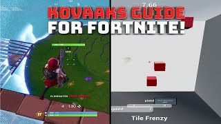 Best Kovaaks Courses For Fortnite! - (Fortnite Battle Royale)