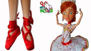 ПУАНТЫ БАЛЕРИНЫ ДЛЯ КУКОЛ Monster High, Barbie / Muza Rukodeliya 🌺