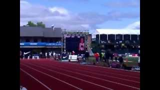 2012 OLYMPIC TRIALS STARTING LINE UP BANTUM GIRLS 100M DASH/AVERY CROXTON(, 2012-07-02T04:21:40.000Z)