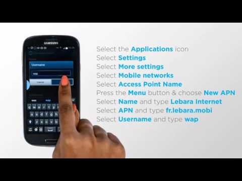 French prepaid sim card (Lebara): How to install internet settings on  Android (Samsung Galaxy S3)