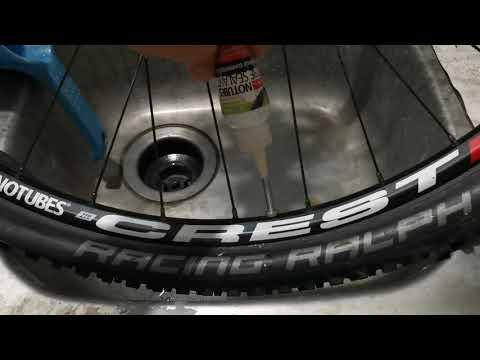 BikeVlog: Paano Refill ng Sealant - Stans NoTubes Sealant - ZTR CREST setup