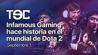 Infamous Gaming hace historia en el mundial de Dota 2