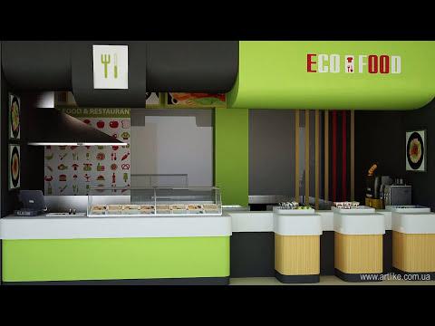 Дизайн кафе органического питания