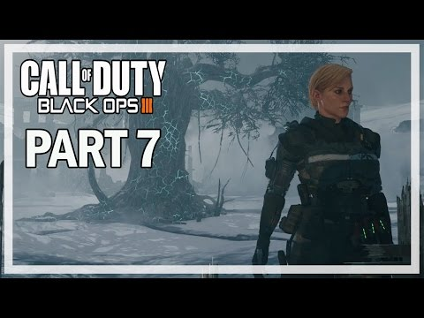 Call of Duty Black Ops 3 Walkthrough Part 7 Frozen Forest - BO3 Let's Play Gameplay