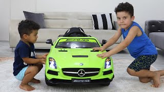 Yusuf and Baby's Funny Cordless Car Story