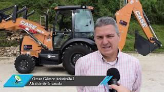 Granada ya tiene su máquina retroexcavadora para el mantenimiento de vías rurales