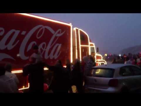 Vánoční kamión Coca Cola Velká Bíteš