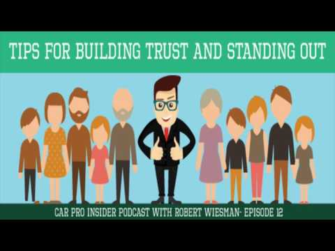 Car Sales Tip To Build Trust With Customers -Training For Car Sales