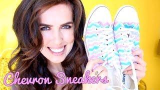 D.I.Y. Chevron Sneakers! Thumbnail
