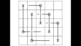 Grid diagram and arc presentation of the trefoil