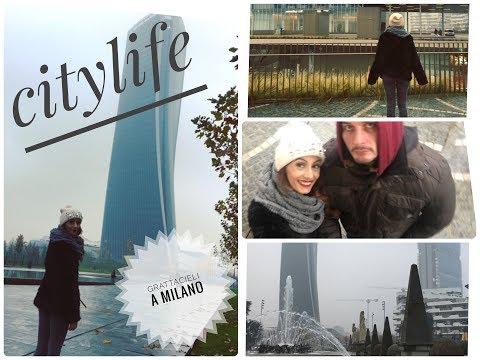 VLOG NELLA MILANO DEI GRATTACIELI: QUARTIERE CITYLIFE !!