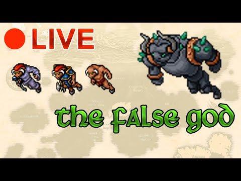 Live! - Boss The False God - Cults of Tibia Quest