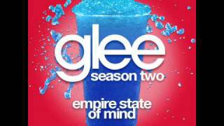 Glee - Empire State Of Mind [LYRICS]
