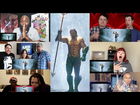 Aquaman - Fan Reactions - Now Playing In Theaters