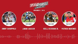 SPEAK FOR YOURSELF Audio Podcast (11.01.19)with Marcellus Wiley, Jason Whitlock | SPEAK FOR YOURSELF