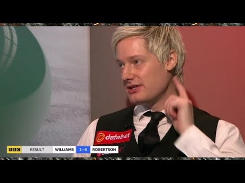 Neil Robertson Masters Snooker 2019 FULL Post Match Interview HD 1080P 60FPS