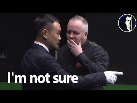 Snooker Incident | When Players Forget the Rules | 2019 International Championship Last 128