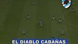 PES 2009 - GOLAÇOS! WINNING ELEVEN GOLS - SAMPDORIA