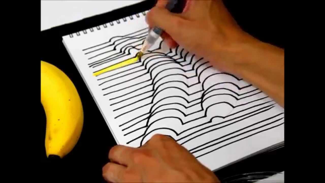 誰でも描ける メチャ簡単な浮き出る3d絵画の描き方 Pouchポーチ