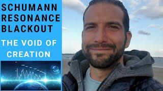 Schumann Resonance Blackout glitch : The void of creation | The alarm bell for #thegreatawakening (M