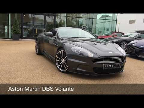 Aston Martin DBS Volante finished in Meteorite Silver Available now from Aston Martin Chichester