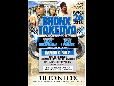 BRONX TAKEOVA SHOW live perfomance(Hosted by Jermaine Thompson)in Hunts Point